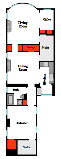 Closets Floor Plan