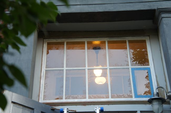 Reglazed Transom Window
