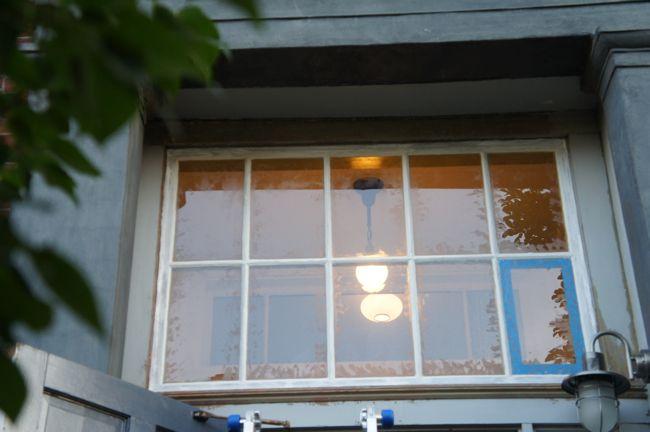 Reglazed Transom Window