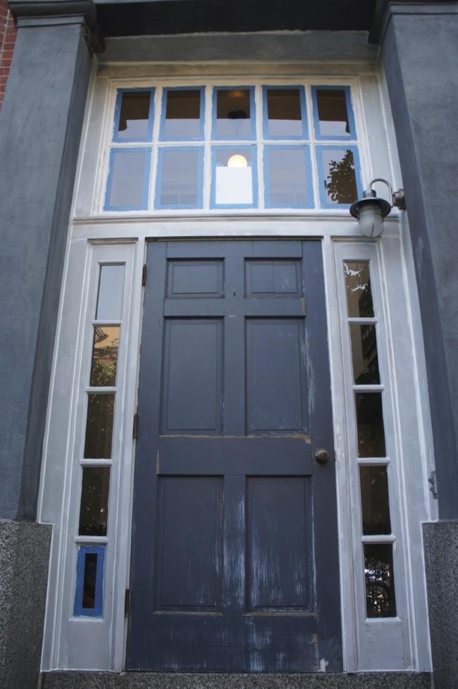 Caulked Entryway