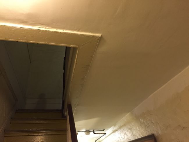 Ground Floor Ceiling