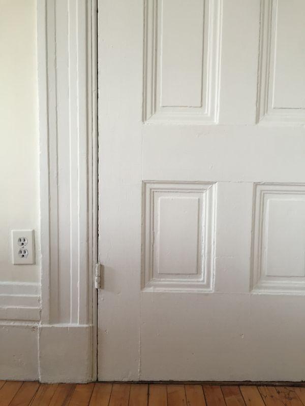 Panel Door Closeup