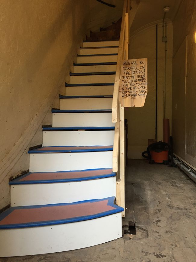 old stairs new treads