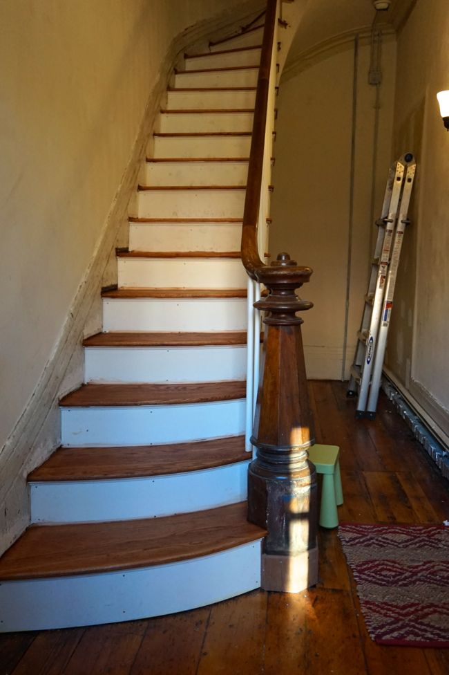 Finished Stair Treads