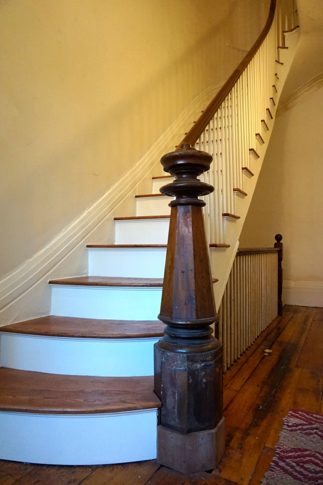 Newel Post Progress