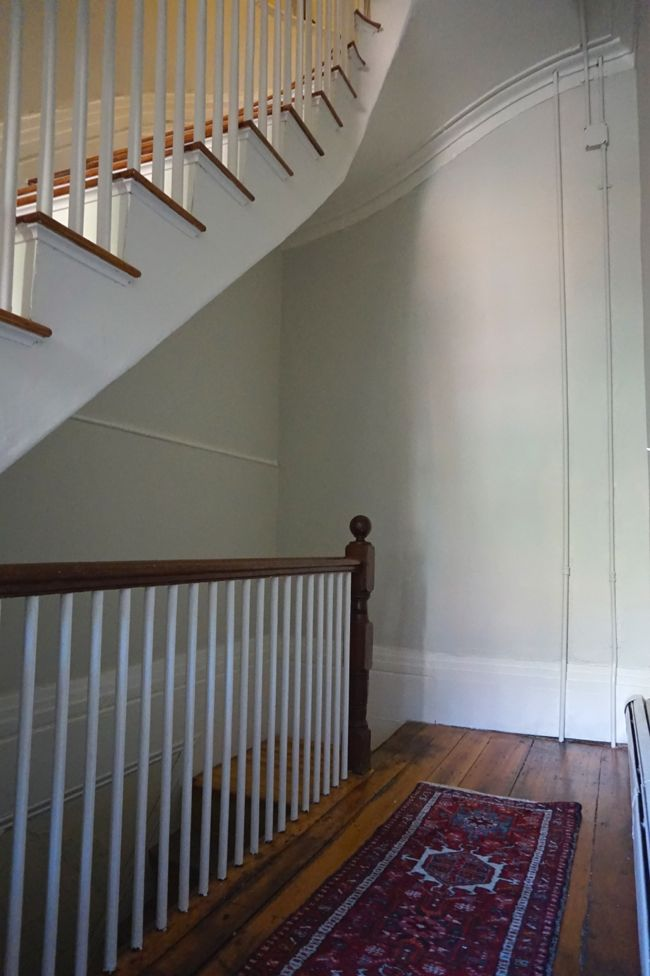 stairwell back corner