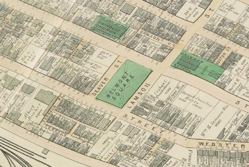 Belmont Square 1874