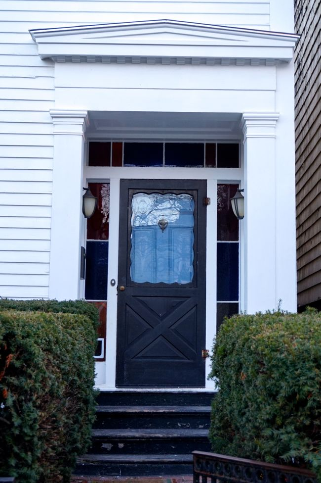 Greek Revival Front Door