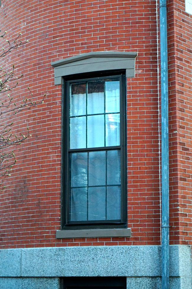 Greek Revival Window
