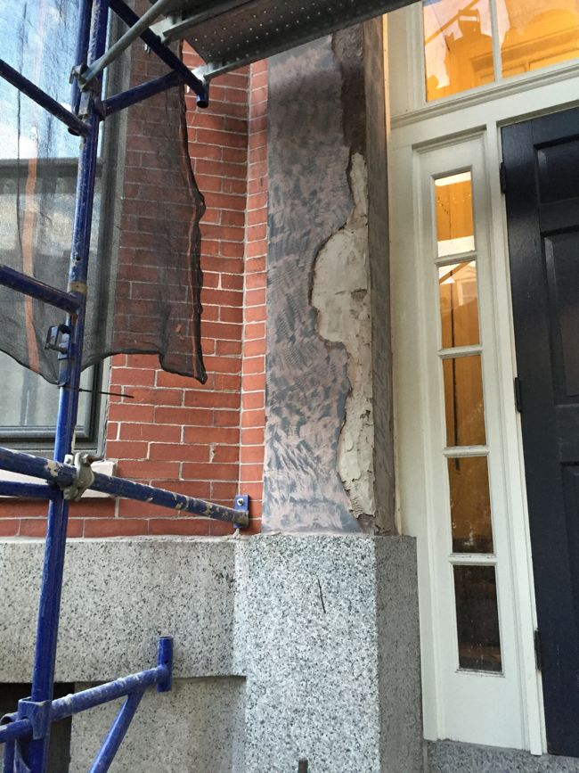 Brownstone Restoration Progress