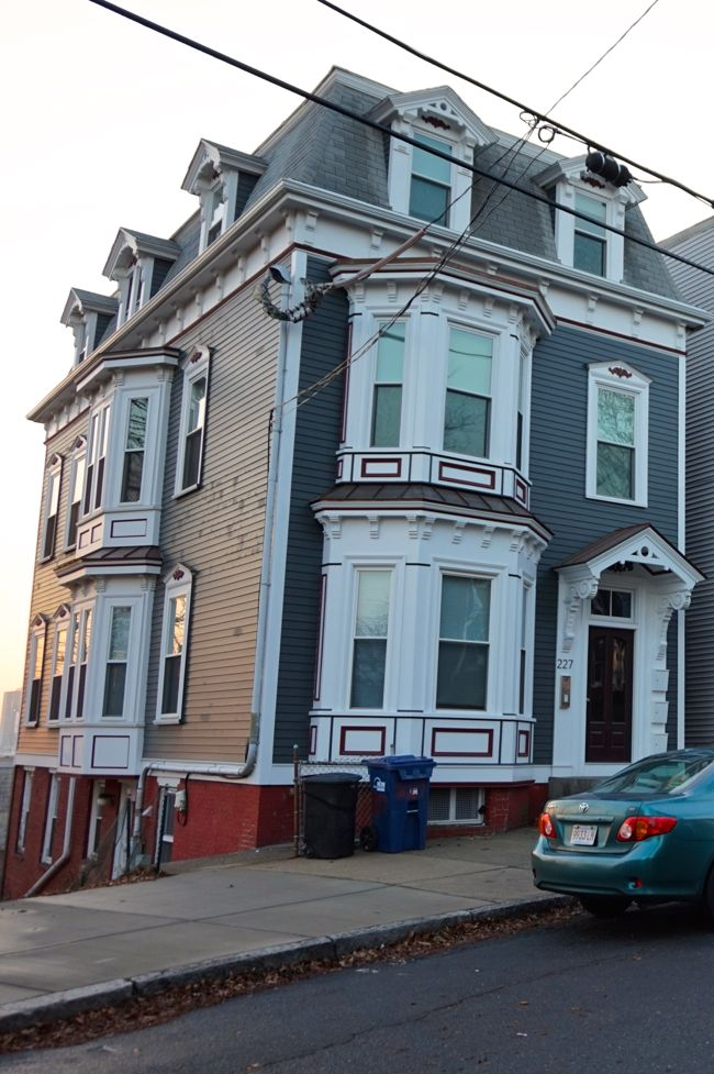 Mansard End House