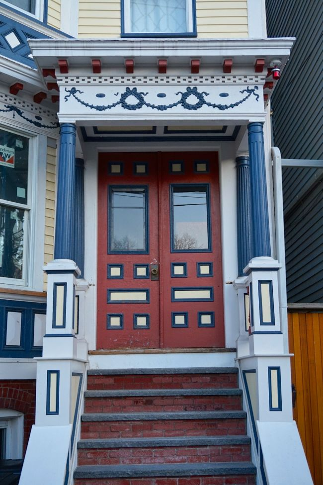 Triple Decker Front Door